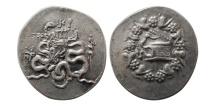 Ancient Coins - MYSIA, Pergemen. 166-67 BC. AR Cistophoric Tetradrachm.