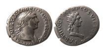 Ancient Coins - ROMAN EMPIRE. Trajan. 98-117 AD. AR Denarius. Scarce.