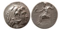 Ancient Coins - KINGS of MACEDON. Alexander III. 336-323 BC. AR Tetradrachm. Babylon mint, lifetime issue.
