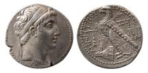 Ancient Coins - SELEUKID KINGS, Demetrius II. 145-139 BC. Silver Tetradrachm. Tyros mint. Nicely struck.