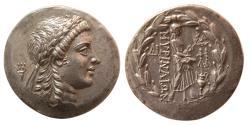 Ancient Coins - AEOLIS, Myrina. circa 155-145 BC. Silver Tetradrachm. Great style. Lovely strike.