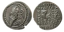 Ancient Coins - KINGS of PARTHIA. Osroes II. Circa AD 190-208. AR Drachm.