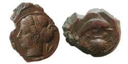Ancient Coins - SICILY, Syracuse. Dionysios I. 405-367 BC. Æ Hemilitra.