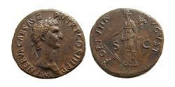 Ancient Coins - ROMAN EMPIRE. Nerva. AD. 96-98. Æ Dupondius.