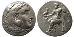 Ancient Coins - KINGS of MACEDON. Alexander III. 336-323 BC. AR Tetradrachm. Amphipolis mint.