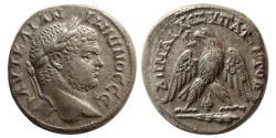 Ancient Coins - PHOENICIA. Tyre. Caracalla, 198-217. Billon Tetradrachm.