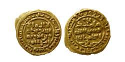 World Coins - ISLAMIC DYNASTS. Saffarid, Khalaf Bin Ahmad, 370-393 AH. Gold fractional dinar. Sijistan, 385 AH.