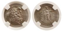 Ancient Coins - THESSALY. Thessalian League. Ca. 2nd-1st centuries BC. AR Stater. NGC MS.