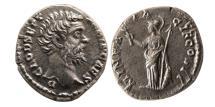 Ancient Coins - ROMAN EMPIRE. Clodius Albinus. 193 AD. AR Denarius. Sharply struck. Rare.