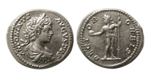 Ancient Coins - ROMAN EMPIRE. Caracalla. AD. 198-217. AR Denarius.