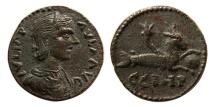 Ancient Coins - MYSIA, Parium. Julia Paula. Augusta, A.D. 219-220. Æ. Choice Superb EF.  Scarce !