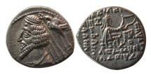 Ancient Coins - KINGS OF PARTHIA. Phraates IV. 38-2 BC. AR Drachm.