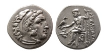 Ancient Coins - KINGS of MACEDON. Alexander III. 336-323 BC. AR Drachm. Lampsakos mint. Lovely strike.