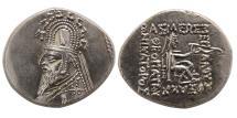 Ancient Coins - PARTHIAN EMPIRE. Sinatruces. 93-70 BC. AR Drachm. Choice FDC.
