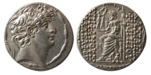 Ancient Coins - SELEUKID KINGS; Philip I Philadelphos. Circa 95/4-76/5 BC. AR Tetradrachm. Choice FDC.