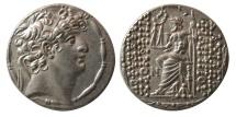 Ancient Coins - SELEUKID KINGS; Philip I Philadelphos. Circa 95/4-76/5 BC. AR Tetradrachm. Choice FDC.