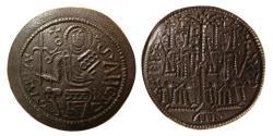 World Coins - HUNGARY. Bela III. AD. 1172-1196 . Æ Follis.