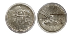 World Coins - UNITED STATES. 1926. Half dollar. Oregon Trail commemorative. 1926. PCGS-MS 64.