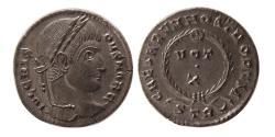 Ancient Coins - ROMAN EMPIRE. Crispus. as Caesar. AD 316-326. Æ Follis.