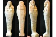 Ancient Coins - EGYPT, XXVI DYNASTY, Ca. 650-330 BC. Large Faience Ushabti.
