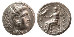 Ancient Coins - SELEUKID KINGS, Seleukos I Nikator. 312-281 BC. Silver Tetradrachm. Ekbatana mint.  Elegant dies.