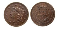 World Coins - UNITED STATES. 1837. Large Cent.