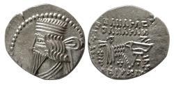 Ancient Coins - KINGS of PARTHIA. Pakoros I. Circa AD. 78-120. AR Drachm.