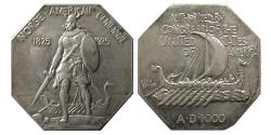 World Coins - UNITED STATES. 1925. Norse Silver Medal. Norse American Commemorative, Thick variety,