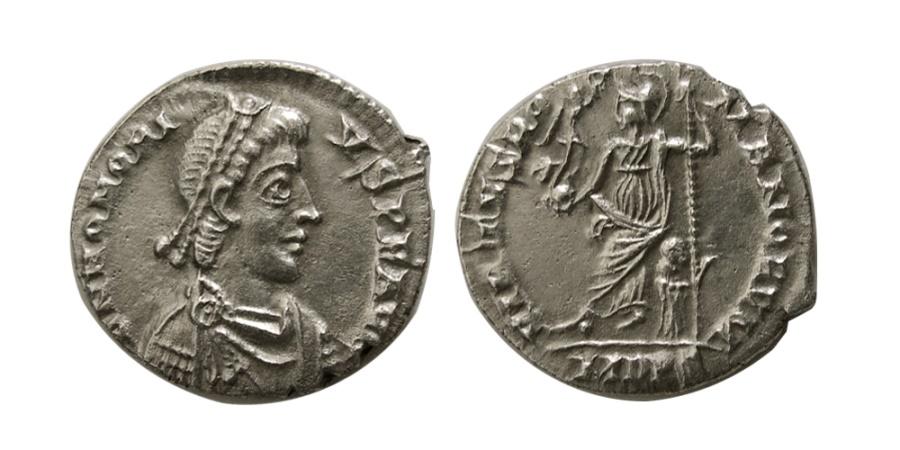 Ancient Coins - ROMAN EMPIRE. Honorius. AD 393-423. AR Siliqua.