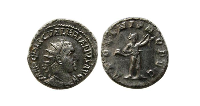 Ancient Coins - ROMAN EMPIRE. Valerian I. 258-259 AD. AR Antoninianus