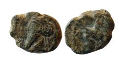 Ancient Coins - PARTHIAN EMPIRE. Osroes I. 108-128 AD. AE Chalkoi. Extremely rare.