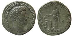 Ancient Coins - ROMAN EMPIRE. Marcus Aurelius. AD. 139-161. Æ Sestertius.