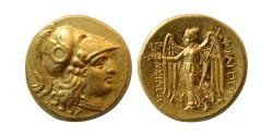 Ancient Coins - KINGDOM of MACEDON, Philip III Arrhidaios. 323-317 BC. Gold Stater. Wonderful style. Fully Lustrous