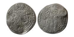 World Coins - NEZAK HUNS, Vasudeva. Circa AD. 720. AR Drachm. Zabulistan/Sistan mint.