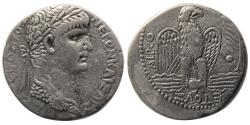 Ancient Coins - SYRIA; Seleucis and Pieria. Nero. 54-68 AD. AR Tetradrachm. Antioch, dated Regnal Year 10(AD 63/4)