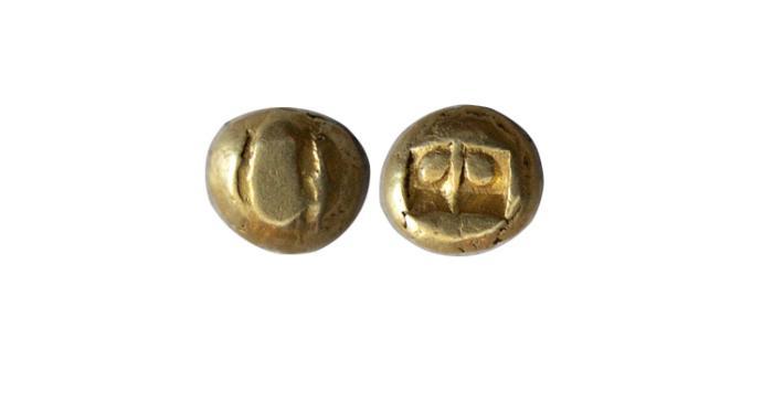 World Coins - INDONASIA. Majapahit. 1293-1520 AD. Gold Unit