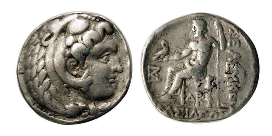 Ancient Coins - SELEUKID KINGS, Seleukos II.246-226 BC. AR Tetradrachm.  Susa mint.