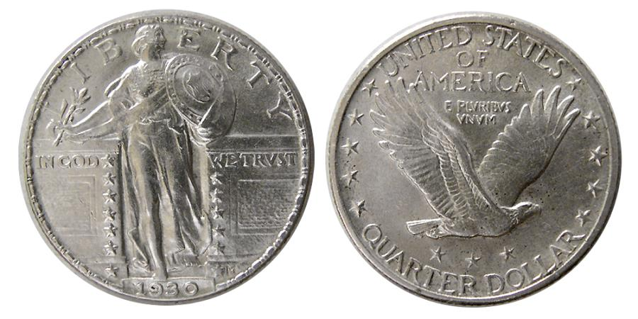 World Coins - UNITED STATES. 1930. Quarter Dollar.