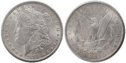 World Coins - UNITED STATES. 1888. Morgan Dollar. Choice UNC.