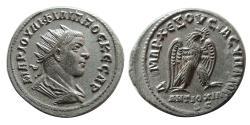 Ancient Coins - SYRIA, Seleukis and Pieria. Antioch. Philip II. 247-249 AD. Billon Tetradrachm.