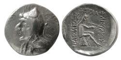 Ancient Coins - KINGS of PARTHIA. Phriapatios to Mithradates I. Circa 185-132 BC. AR Drachm.