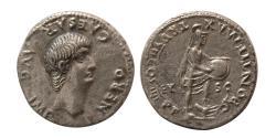 Ancient Coins - ROMAN EMPIRE. Nero. AD. 54–68. Silver Denarius. Rare.