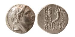 Ancient Coins - SELEUKID KINGS. Demetrius I. 162-150 BC. Silver Drachm. Dated Year SE 161(152/151 BC).