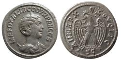 Ancient Coins - SYRIA, Seleucis and Pieria. Otacilia Severa, AD. 244-248. BI Tetradrachm.