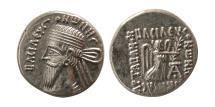 Ancient Coins - KINGS OF PARTHIA, Vonones I. Circa AD 8-12. AR Drachm.