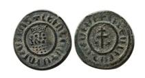 World Coins - ARMENIA; Levon I. 1199-1218 AD. AE Tank.