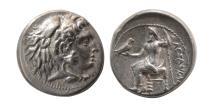 Ancient Coins - KINGS of MACEDON, Alexander III. 336-323 BC. AR Drachm. Uncertain mint.