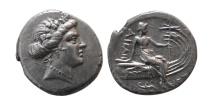 Ancient Coins - EUBOIA, Histiaia. 3rd-2nd centuries BC. AR Tetrobol. Great style.