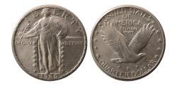 World Coins - United States. 1929. Quarter Dollar.