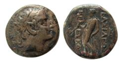 Ancient Coins - SELEUKID KINGS. Seleukos II. 244-226 BC. Æ. Seleukia on the Tigris.